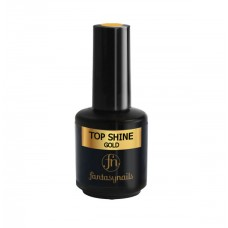 Верхнее покрытие Top Shine Fantasy Nails Gold (15мл)