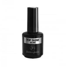 Верхнее покрытие Top Shine Fantasy Nails Silver (15мл)