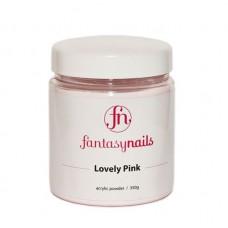 Пудра розовая Fantasy Nails Lovely Pink (350 гр)