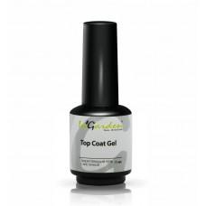 Топ-гель закрепляющий с кисточкой Top Coat gel, 11 мл